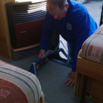 inside mobile home valeting