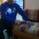 mobile home upholstery valeting